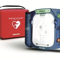 Hjärtstartare Philips HS1 inklusive väska