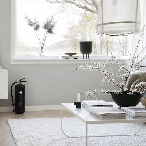 Design by Housegard 6 kg pulversläckare, svart