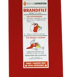 Brandfilt Brandexperten tvålagers i hårdpack