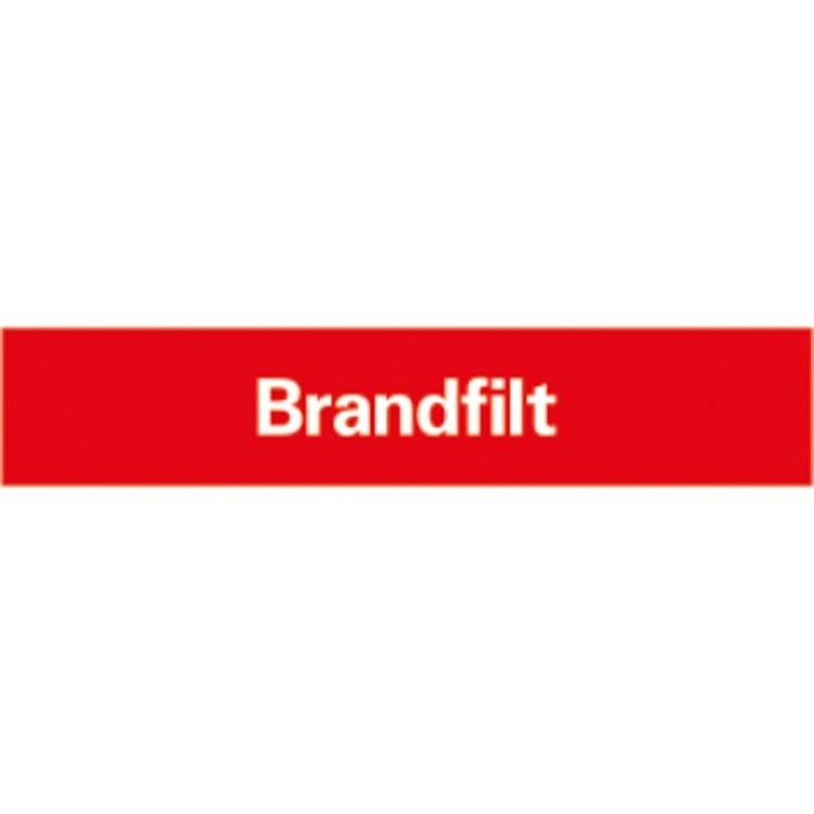 Brandfilt