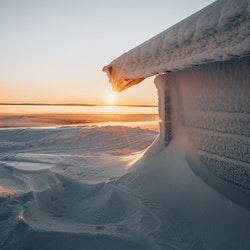 Solnedgång slogbod