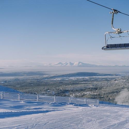 Vinterdag Idre Fjäll