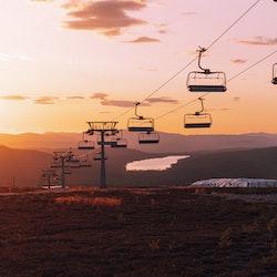 Solnedgång Nord 6an