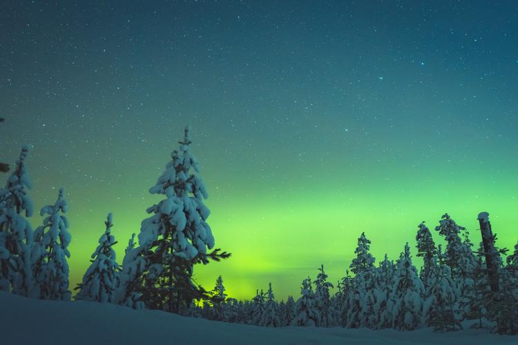 Vinter norrsken
