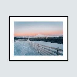 Solnedgång över Nipfjället-Städjan
