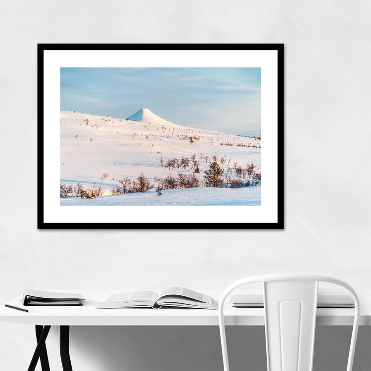 Vinterlandskap Städjan