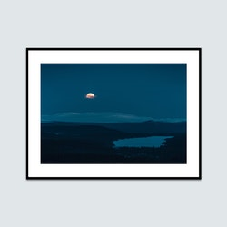 Fullmåne burusjön