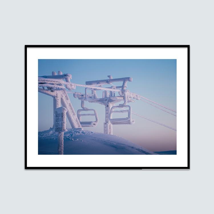 Frostiga liftstolar
