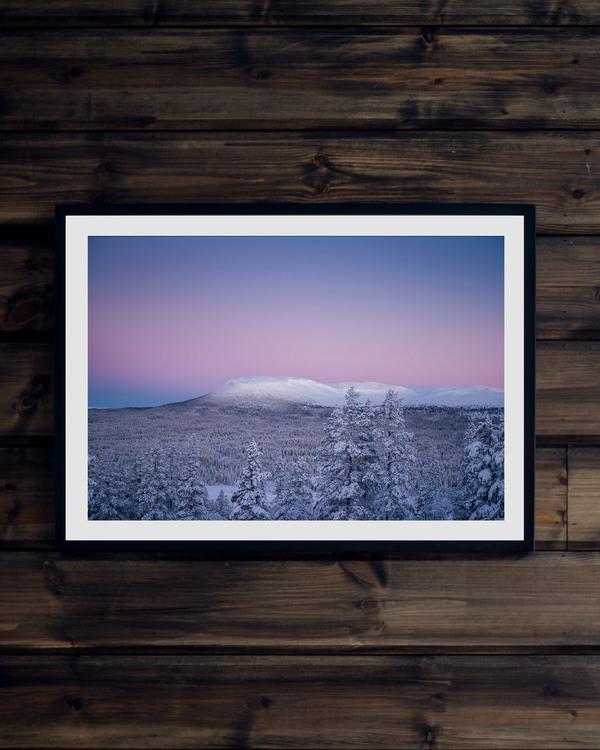 Polarljus Nipfjället