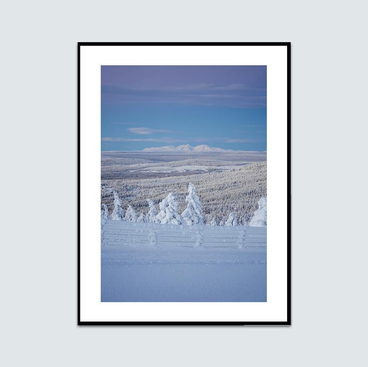 Vinterlandskap Rendalssölen