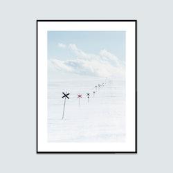 Vinterdag fjället ledkryss