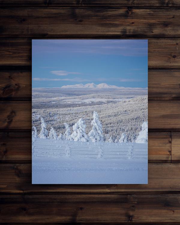 Canvas Vinterlandskap Rendalssölen