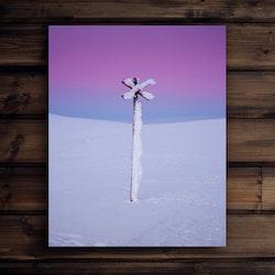 Canvas Ledkryss polarljus 2
