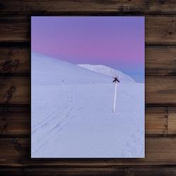 Canvas Ledkryss polarljus 3