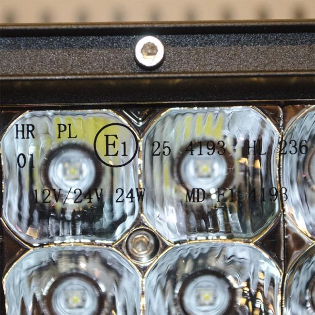"""LED RAMP MED 7,5"""" 36W DRIVING BEAM"""