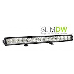 "SLIM DW LED RAMP 20,5"" 57W COMBO BEAM (DUAL W)"