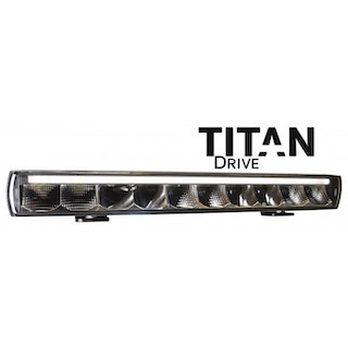 "TITAN DRIVE LED RAMP 20,5"" 100W (E-MÄRKT, DRIVING BEAM, POSITIONSLJUS)"