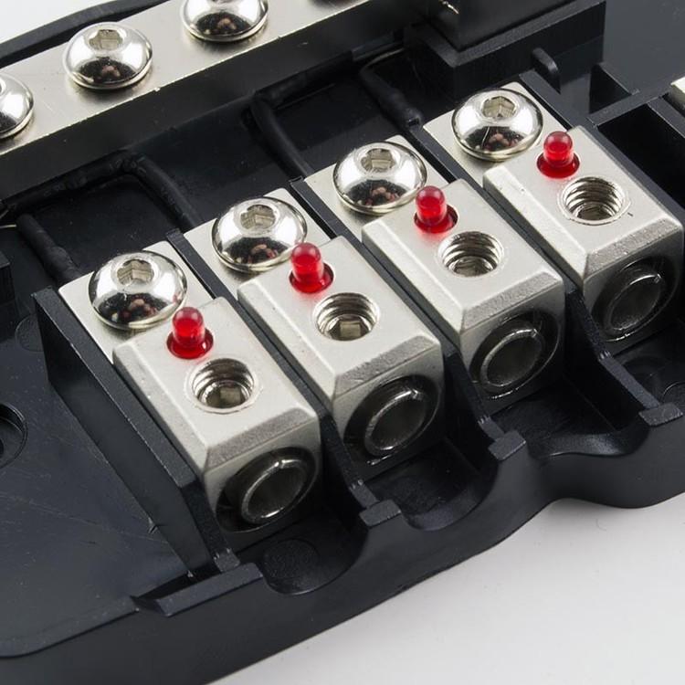 4CONNECT STRÖMCENTRAL 2X50/4X20MM2 DIOD