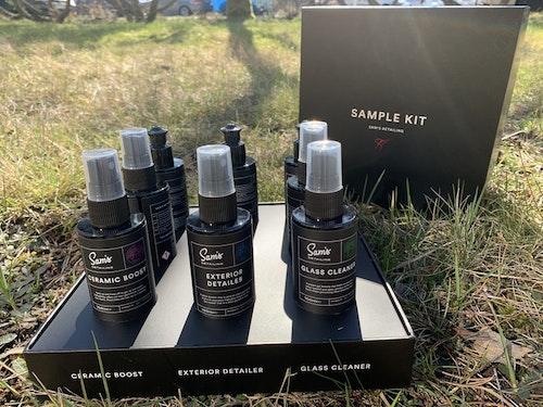 Sam´s detailing - Exclusive sample kit