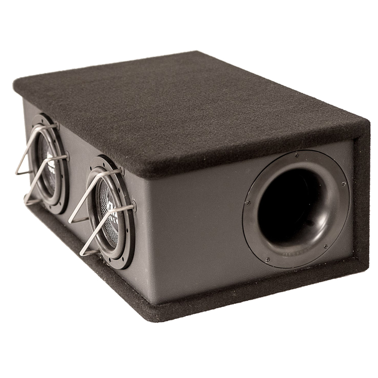 "MM AUDIO BOX SW 6,5"" X2 KOMPLETT"