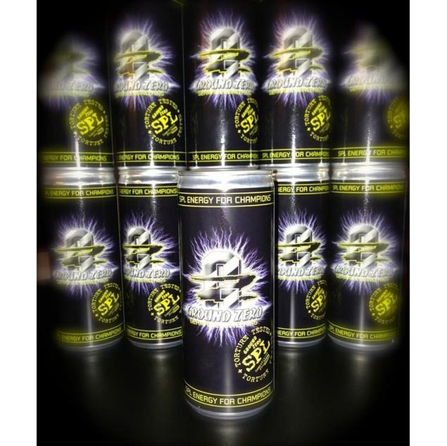 GROUND ZERO ENERGY DRINK SPL