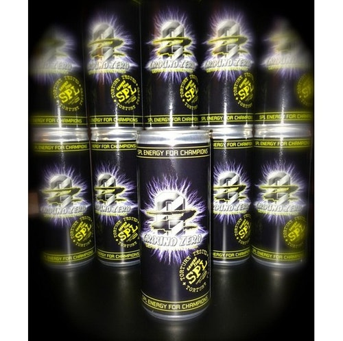 GROUND ZERO ENERGY DRINK SPL