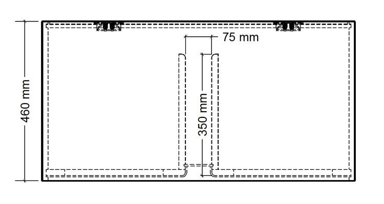 "Baslåda 35Hz 2x12"" 120L"