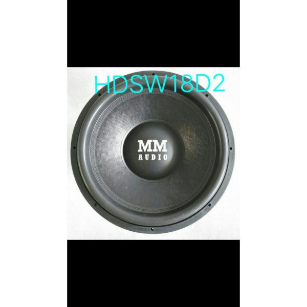 MM AUDIO HD SW 18