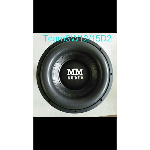 "MM AUDIO TEAM 12"" D2"