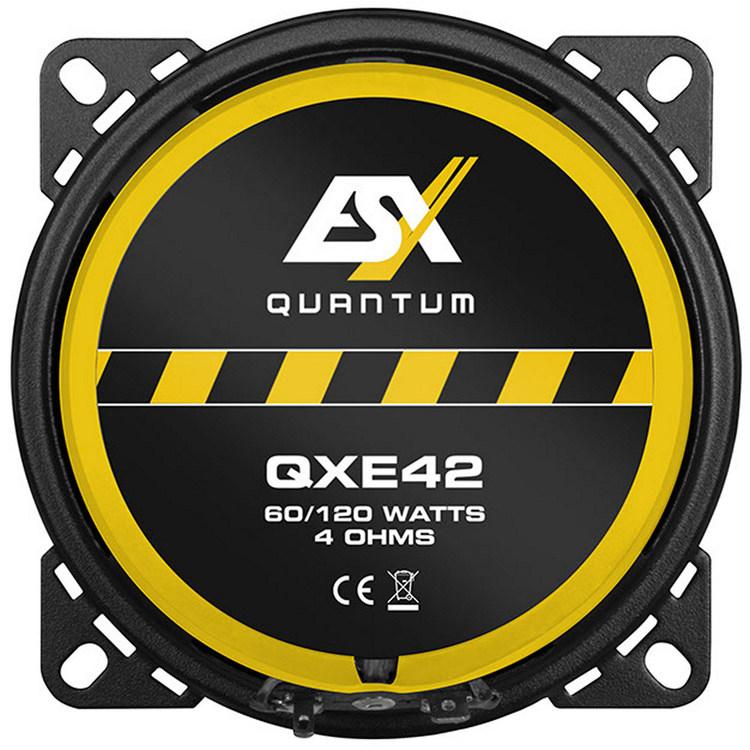 """ESX QXE42 4"""" KOAX"""