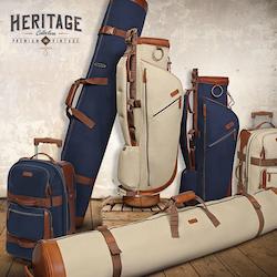 Golfbag + Resväska + Fodral. Tillfälle!