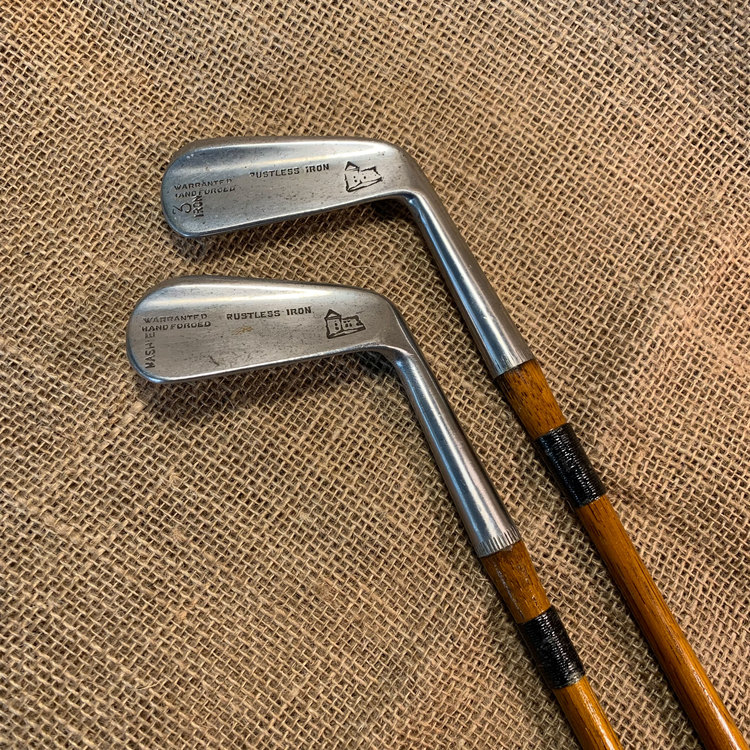 2 x Flanged Irons