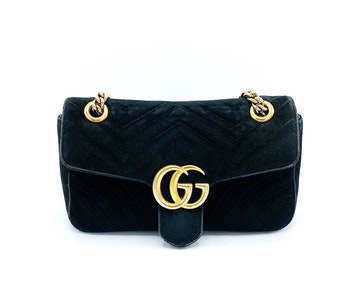 Gucci GG Marmont Velvet Small Bag