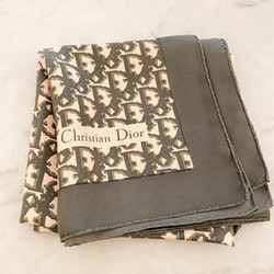 Christian Dior Scarf Logo