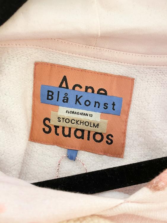 Acne Studios Blå Konst