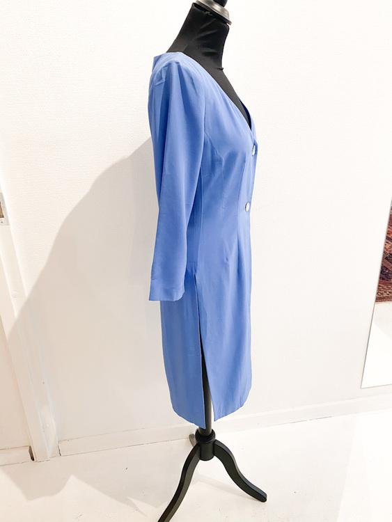 JIL SANDER silk blazer dress
