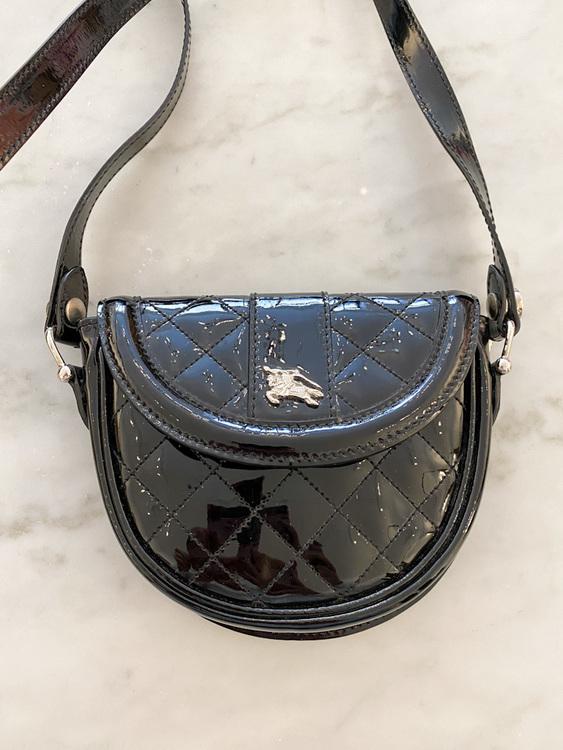 Burberry Patent Mini Bag