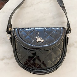 Burberry Patent Mini Bag