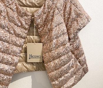 Herno Glitter Puffer Jacket