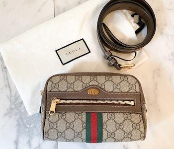 Gucci Ophidia GG Belt Bag