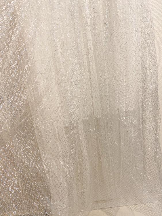Silver tyll vintage dress