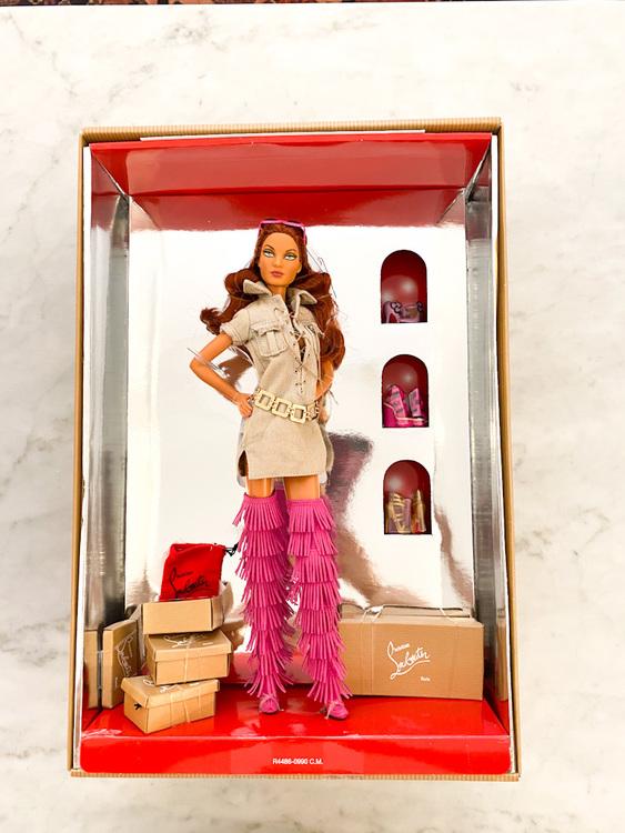CHRISTIAN LOUBOUTIN Barbie Collector Item