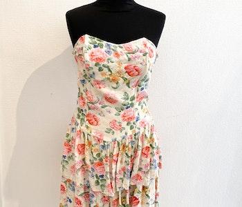 Vintage Floral Dress strl.38
