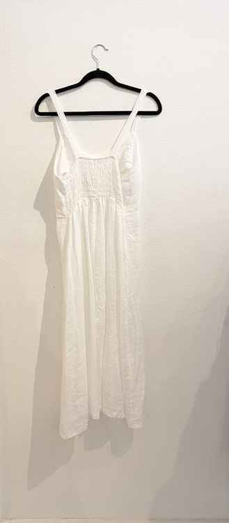 Linne klänning  S/M