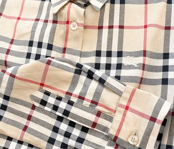 Burberry Brit skjorta Strl L (M)