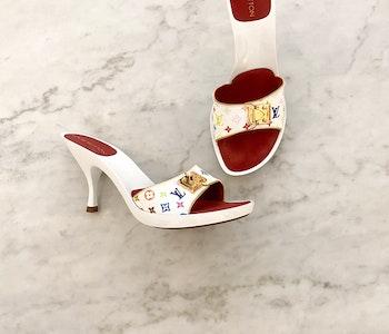 Louis Vuitton Multicolor Mules strl.36