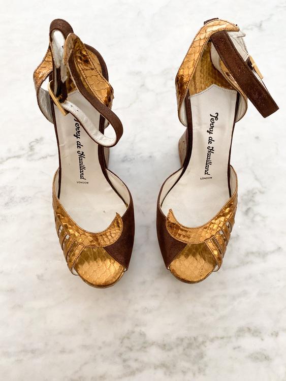 Terry De Havilland Shoes Strl.37