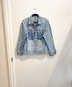 Marine Serre Upcycled Moon Denim Jacket