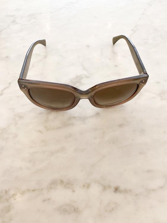 Céline Audrey Khaki Sunglasses