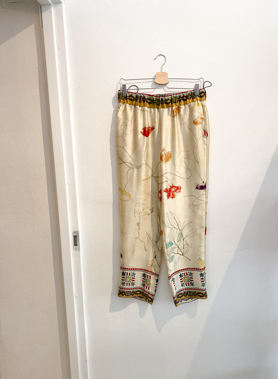 forte_forte Resort Silk Pants Strl.3